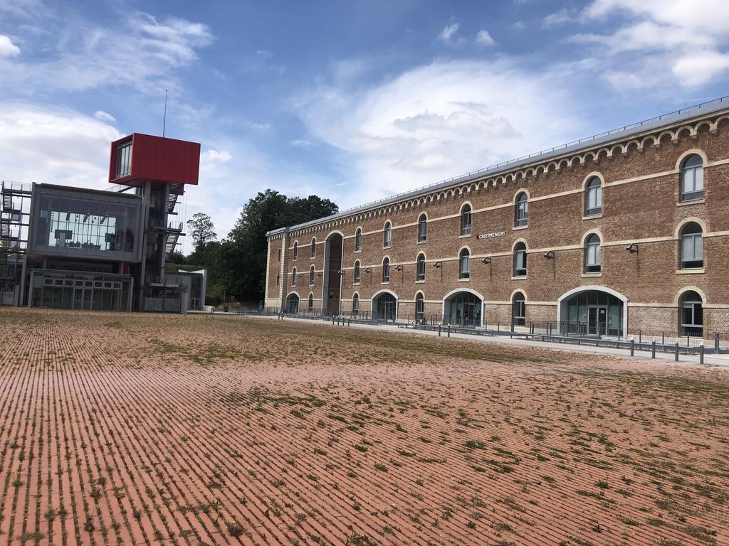 Ordre Des Architectes Amiens visite citadelle amiens